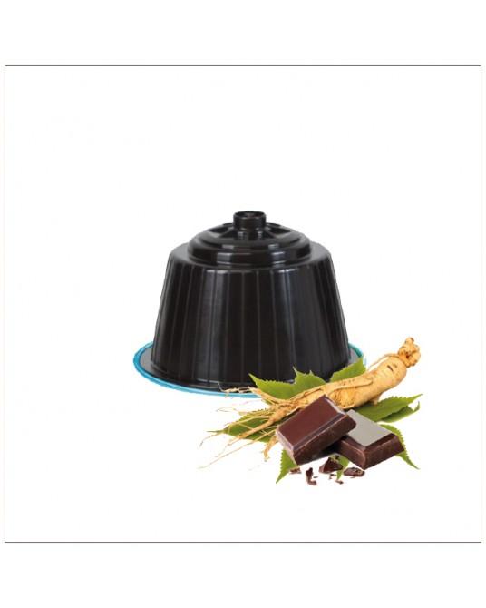 12 Capsule compatibili Dolce Gusto al Ginseng e Cacao *